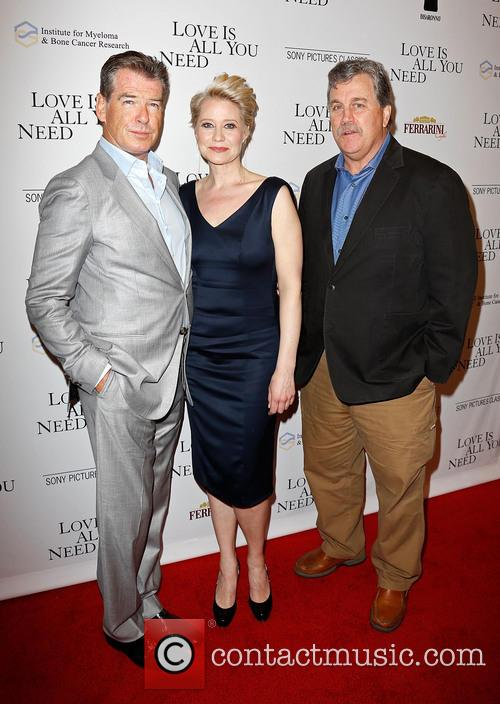 Pierce Brosnan, Trine Dyrholm and Tom Bernard 2