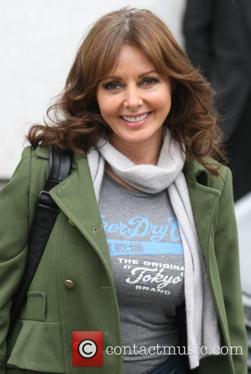 carol vorderman celebs at itv 3634782