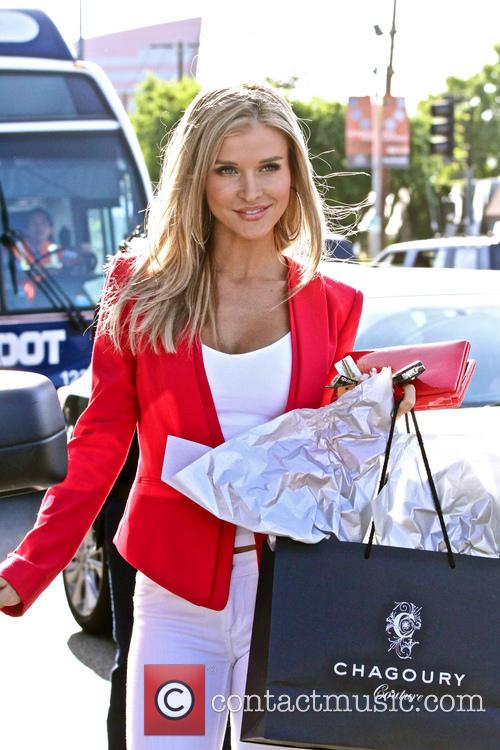 Joanna Krupa shopping in West Hollywood