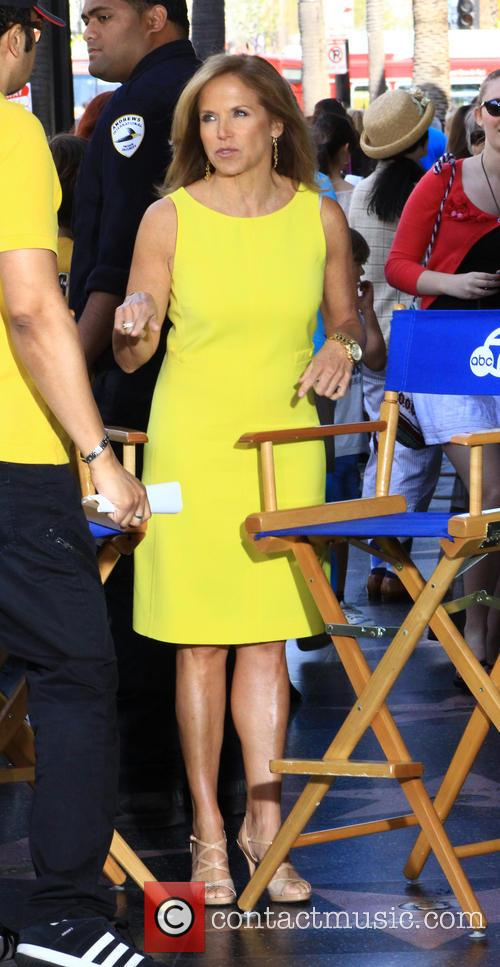 Katie Couric in Hollywood