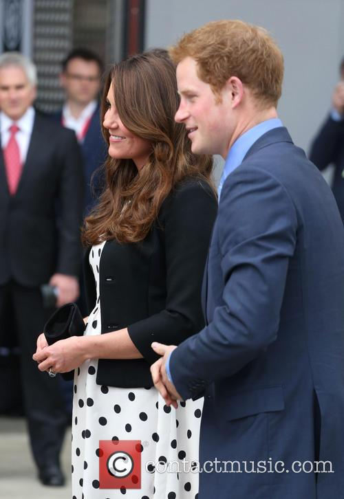 Prince Harry, Catherine, Duchess Of Cambridge and Kate Middleton 2