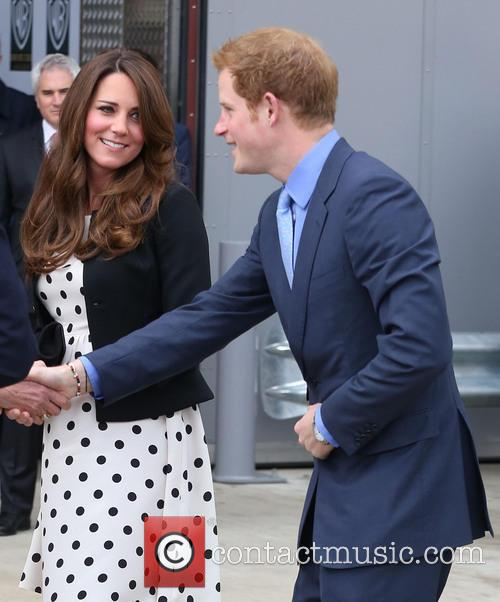 Prince Harry, Catherine, Duchess Of Cambridge and Kate Middleton 3