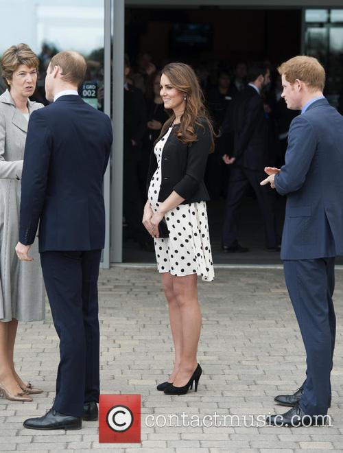 Prince William, Duke of Cambridge, Catherine, Duchess of Cambridge, Kate Middleton and Prince Harry 2