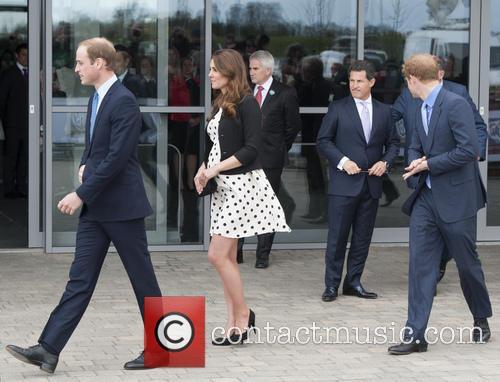 Prince William, Duke of Cambridge, Catherine, Duchess of Cambridge, Kate Middleton and Prince Harry 3