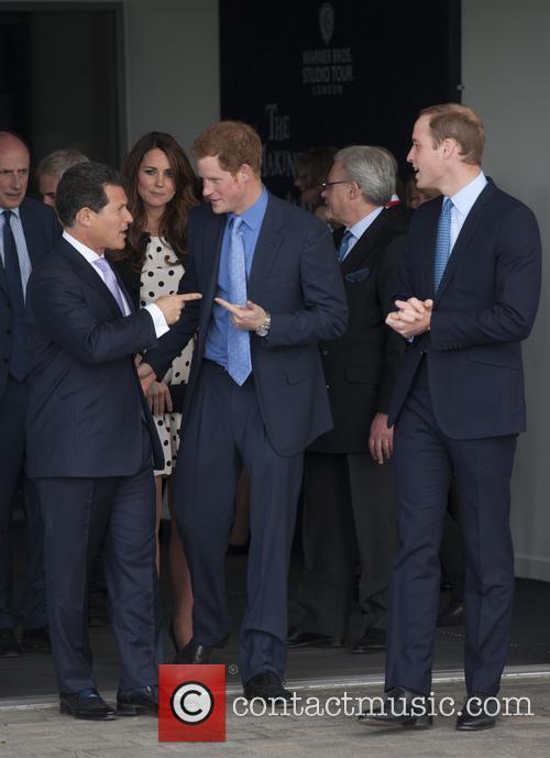 Prince William, Duke of Cambridge, Catherine, Duchess of Cambridge, Kate Middleton and Prince Harry 5