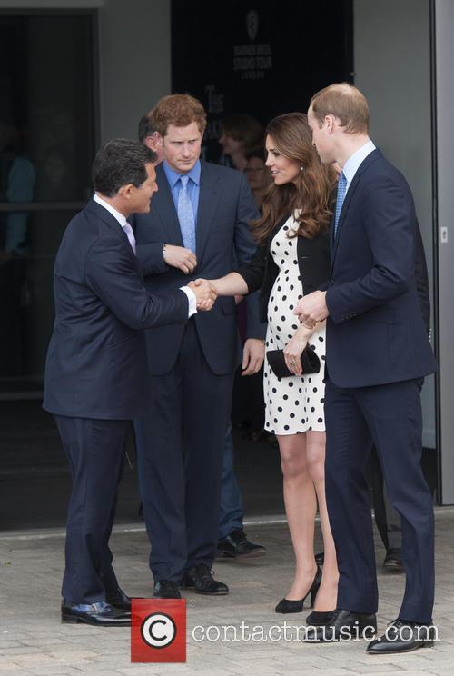 Prince William, Duke of Cambridge, Catherine, Duchess of Cambridge, Kate Middleton and Prince Harry 7