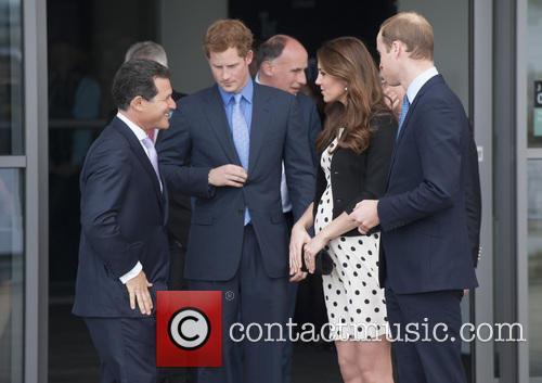 Prince William, Duke of Cambridge, Catherine, Duchess of Cambridge, Kate Middleton and Prince Harry 8