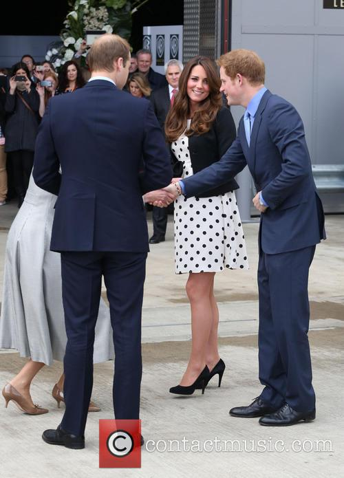 Prince William, Prince Harry, Catherine, Duchess Of Cambridge and Kate Middleton 2