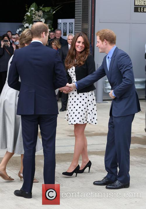 Prince William, Prince Harry, Catherine, Duchess Of Cambridge and Kate Middleton 3