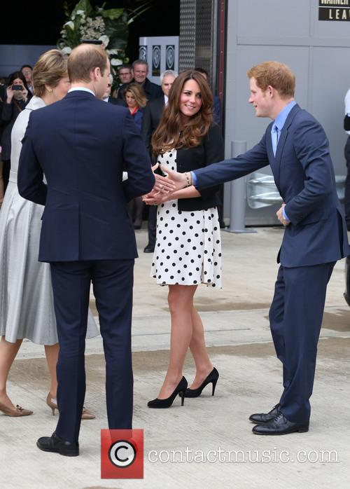 Prince William, Prince Harry, Catherine, Duchess Of Cambridge and Kate Middleton 4