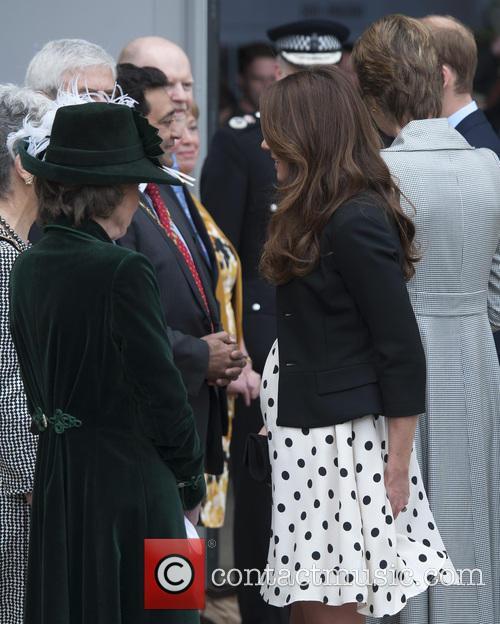 catherine duchess of cambridge kate middleton inauguration of warner 3629575