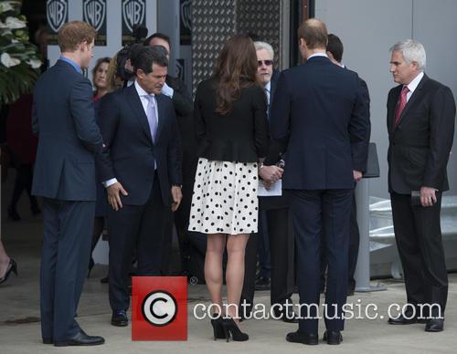 Prince William, Duke of Cambridge, Catherine, Duchess of Cambridge, Kate Middleton and Prince Harry 6
