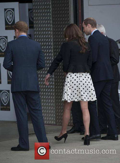 Prince William, Duke of Cambridge, Catherine, Duchess of Cambridge, Kate Middleton and Prince Harry 1
