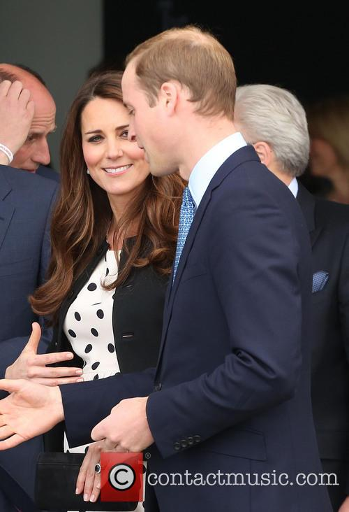 Prince William, Kate Middleton, Warner Bros Studios