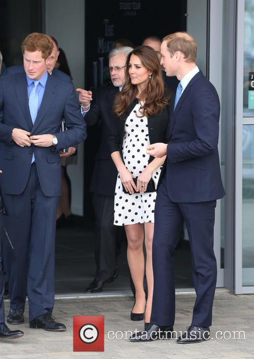 Prince Harry, Duke Of Cambridge, Prince William, Catherine Duchess Of Cambridge and Kate Middleton 11