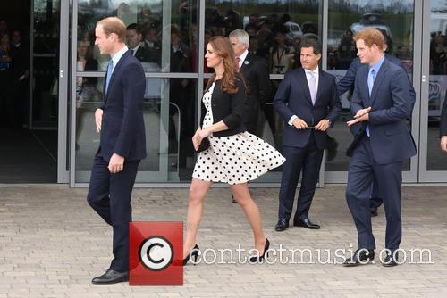 Prince Harry, Duke of Cambridge, Prince William, Catherine Duchess of Cambridge and Kate Middleton 4