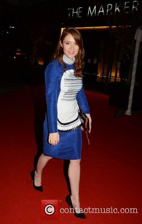 angela scanlon guests seen leaving the peter 3632444