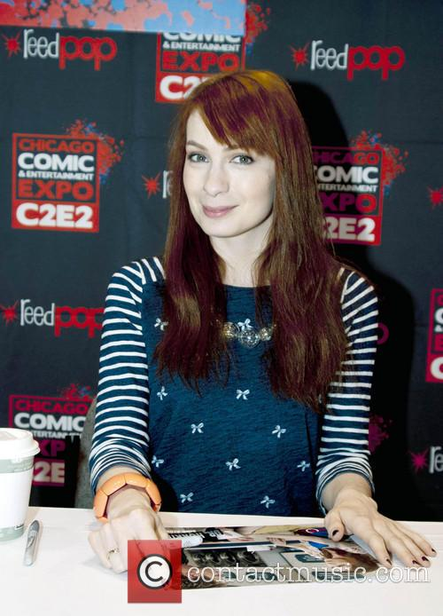 Felicia Day from The Guild at Chicago Comic & Entertainment Expo 2013