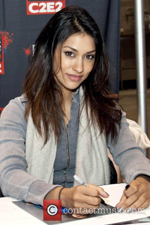 Janina Gavankar from True Blood at Chicago Comic & Entertainment Expo 2013