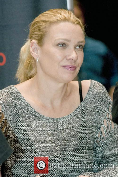 Laurie Holden from The Walking Dead at Chicago Comic & Entertainment Expo 2013