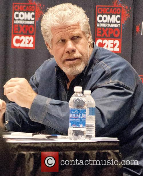 Ron Perlman from Hellboy and Sons of Anarchy at Chicago Comic & Entertainment Expo 2013