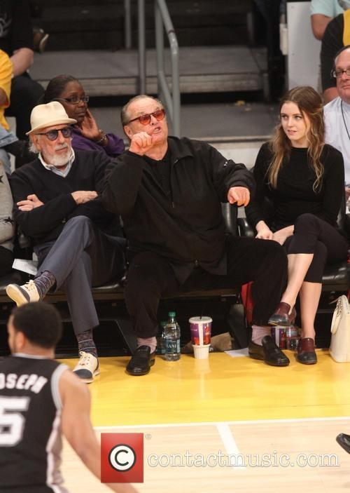 Jack Nicholson, Staples Center
