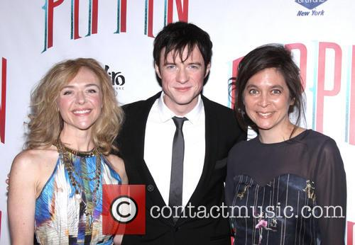 James Thomas, Rachel Bay Jones and Diane Paulus 3