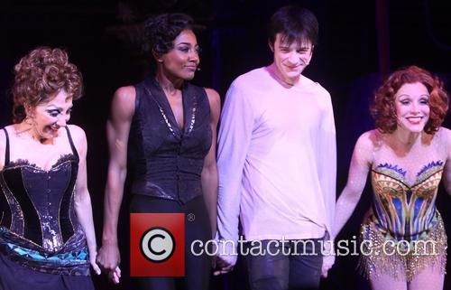 Andrea Martin, Patina Miller, Matthew James Thomas and Charlotte D'amboise 2