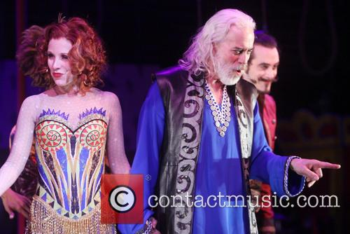 Opening night curtain call for 'Pippin'