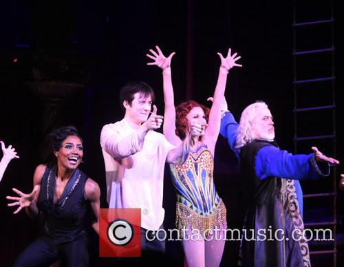 Patina Miller, Matthew James Thomas, Charlotte D'amboise and Terrence Mann 3