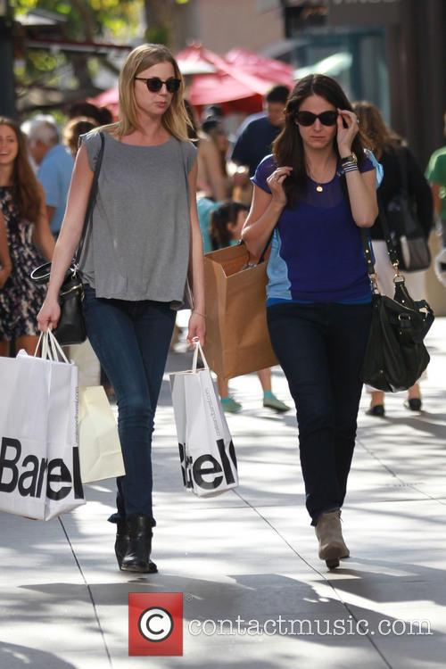 Emily VanCamp goes shopping at The Grove in...