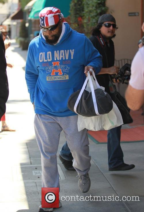 Mr. T leaves the doctors office in Beverly...