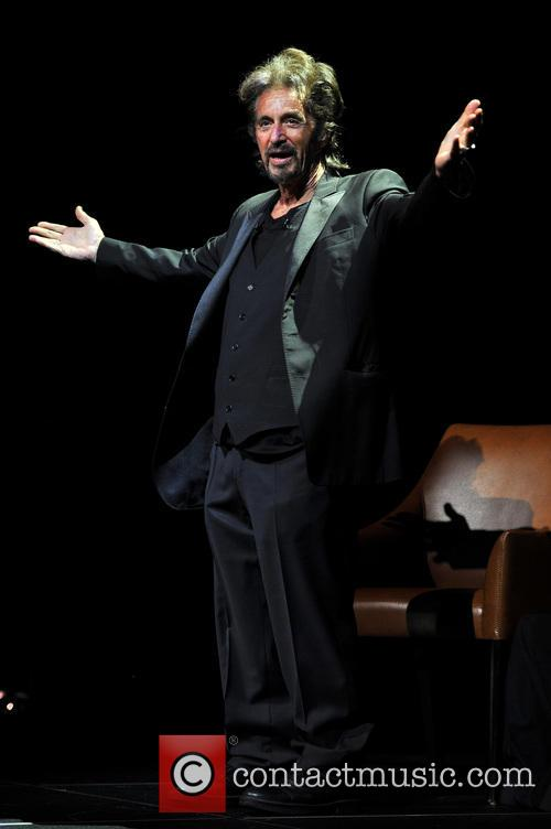 Al Pacino appears during his 'One Night Only'...