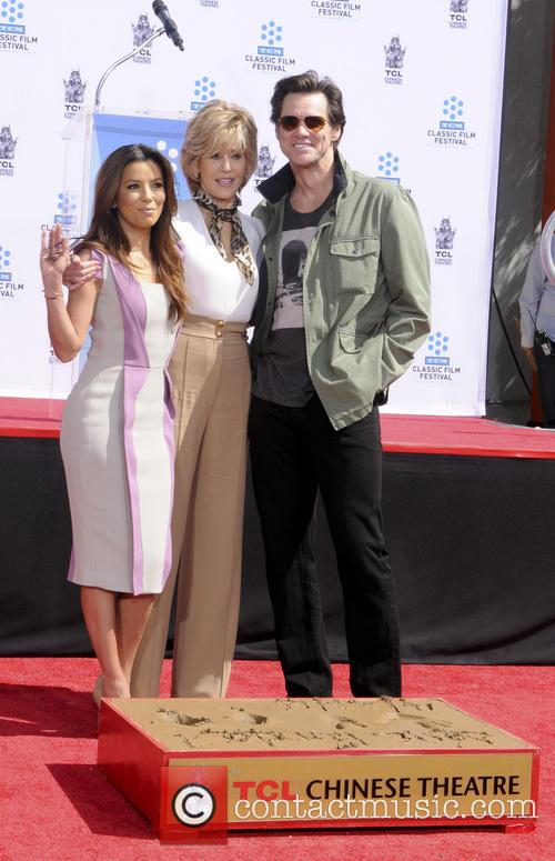 Eva Longoria, Jane Fonda and Jim Carey 3