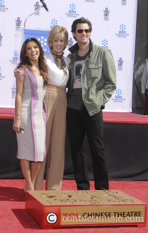 Eva Longoria, Jane Fonda and Jim Carey 8