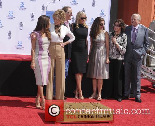 Eva Longoria, Jane Fonda, Peter Fonda, Parky Devogelaere, Shirlee Mae Adams, Maria Shriver, Lily Tomlin and Robert Osborne 2