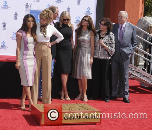 Eva Longoria, Jane Fonda, Peter Fonda, Parky Devogelaere, Shirlee Mae Adams, Maria Shriver, Lily Tomlin and Robert Osborne 7