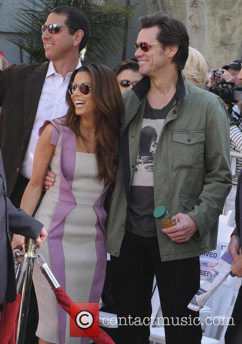 Eva Longoria and Jim Carey 4