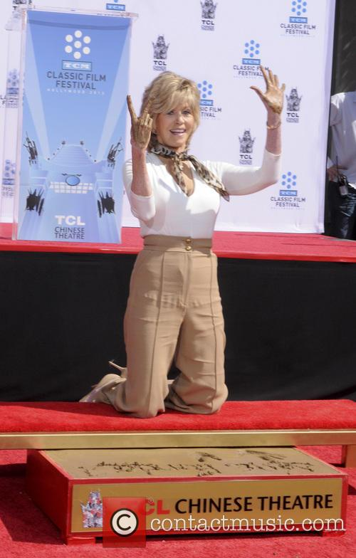 Jane Fonda, TCL Chinese Theater