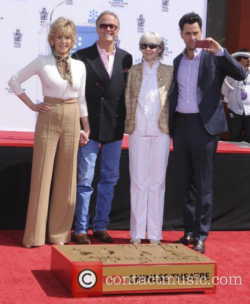 Jane Fonda, Peter Fonda, Shirlee Fonda and Troy Garity 2