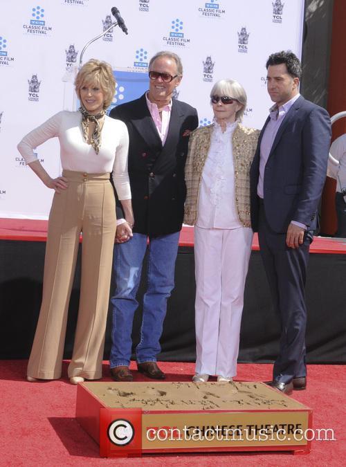 Jane Fonda, Peter Fonda, Shirlee Fonda and Troy Garity 4