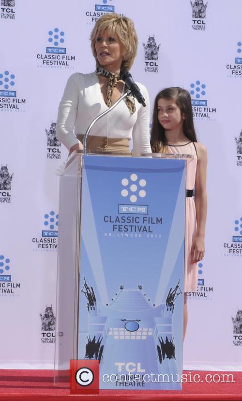 Jane Fonda and Viva Vadim 3