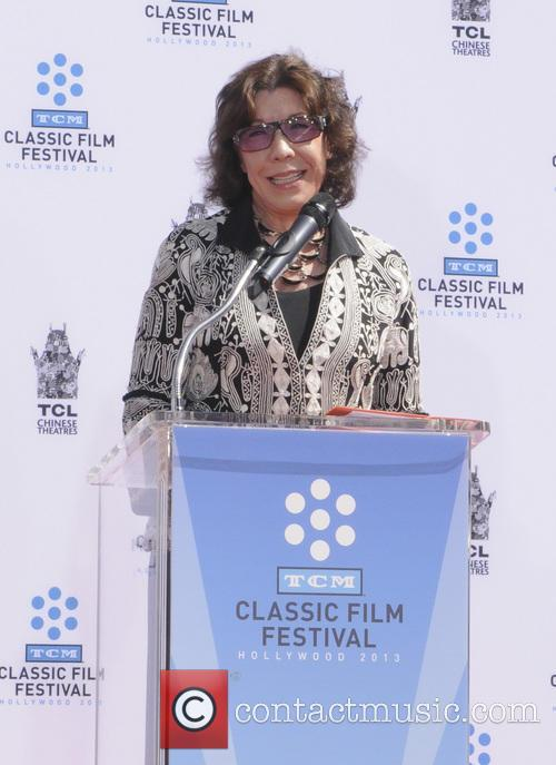 lily tomlin handprint and footprint ceremony honouring 3631250