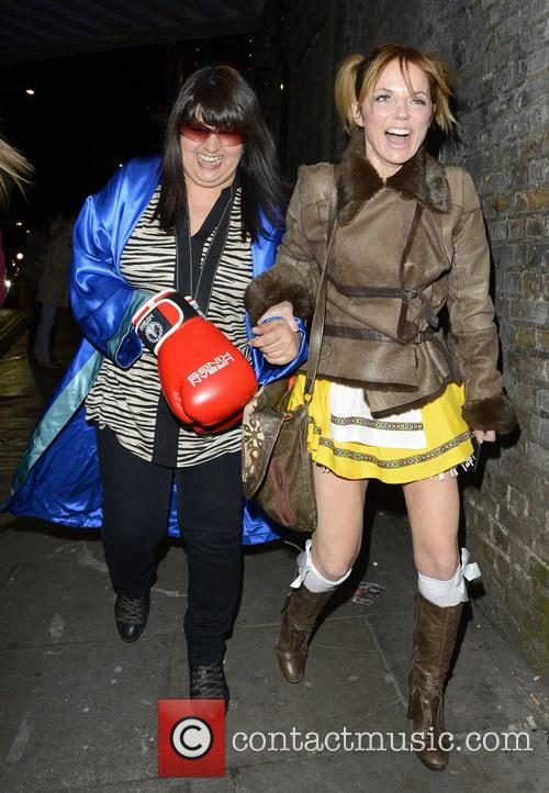 Keith Lemon's 40th birthday party at Gilgamesh - Departures