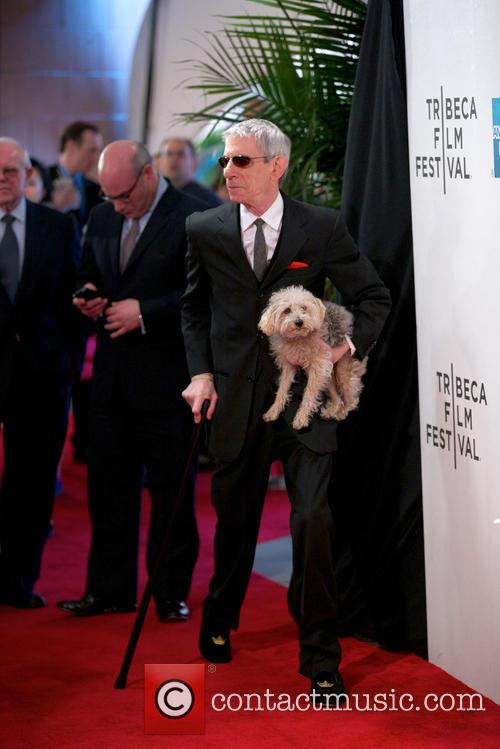 Richard Belzer and Dog 6