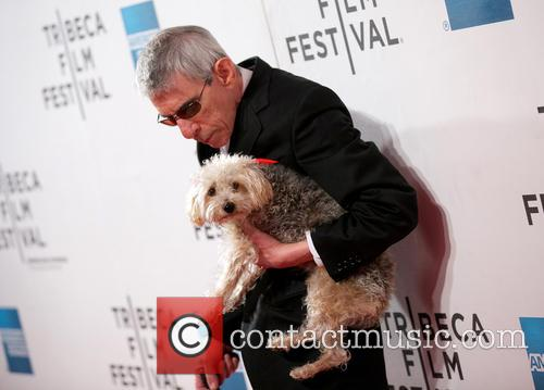 Richard Belzer and Dog 7