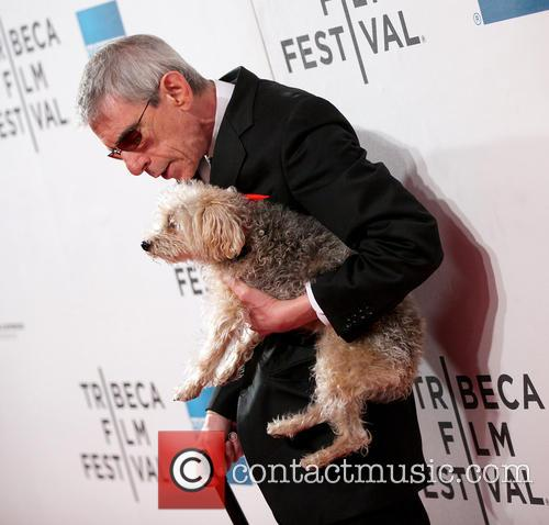 Richard Belzer and Dog 8