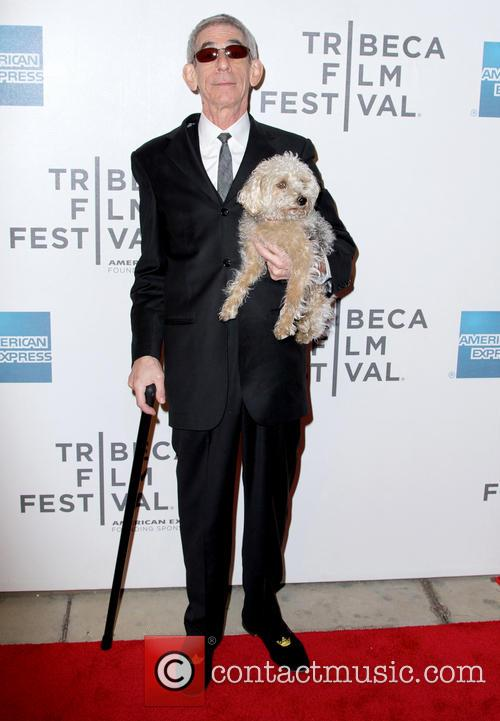 Richard Belzer and Dog 9