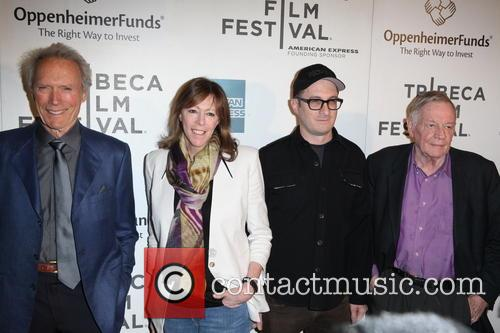 Clint Eastwood, Jane Rosenthal, Darren Aronofsky and Richard Schickel 2