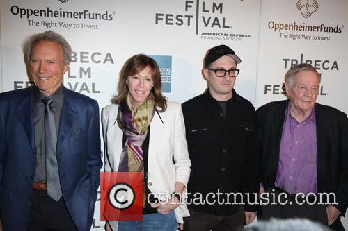 Clint Eastwood, Jane Rosenthal, Darren Aronofsky and Richard Schickel 5
